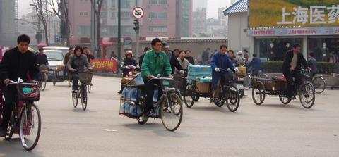 Bikes In Shanghai Bikes In Shanghi